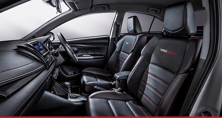 TRD Sportivo Combination Leather Seat*
