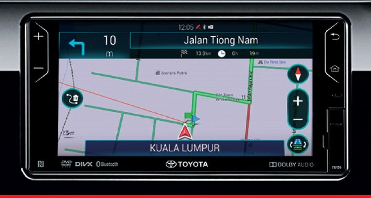 DVD-AVN (Audio Video Navigation) and Reverse Camera with Guide Lines