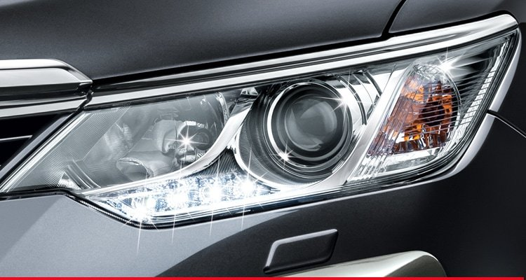 High Intensity Discharge Headlamps with Daytime Running Lights (DRL)