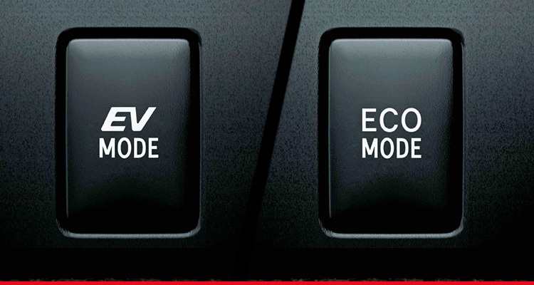 ECO Mode / EV Mode Switches
