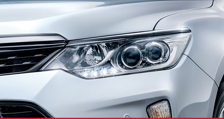 LED Headlamps with Daytime Running Lights