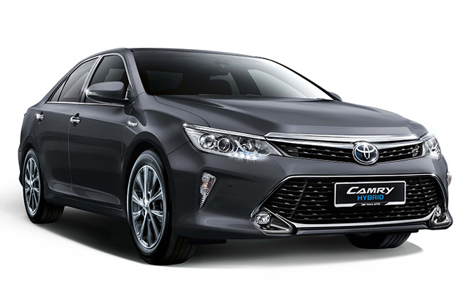 Image Shown Is Camry 2 5 Hybrid Luxury Variant