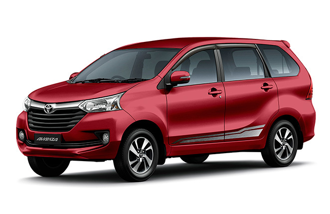 Image shown is the Avanza 1.5G.