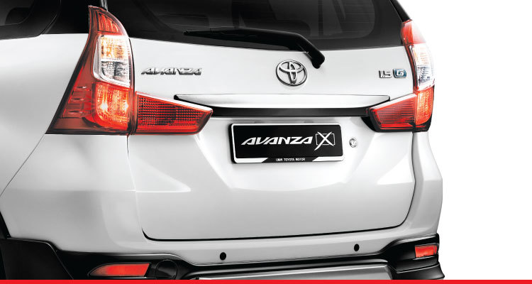 Rear Bumper Spoiler with Moulding