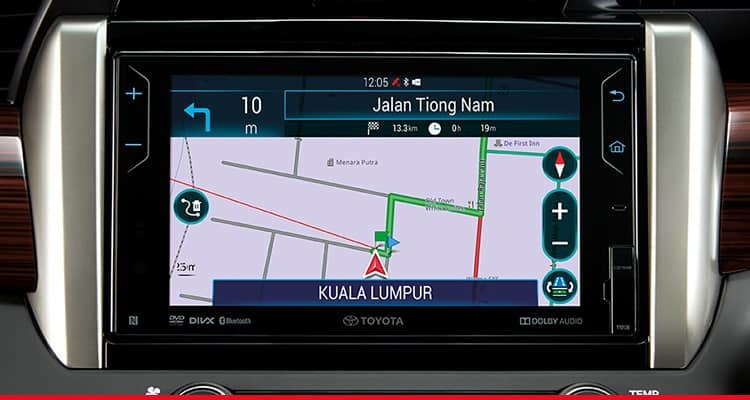 DVD-AVN (Audio-Video Navigation) with Reverse Camera