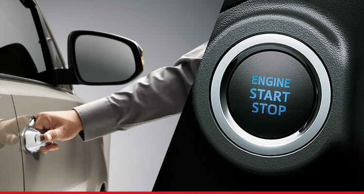Smart Entry and Push Start*
