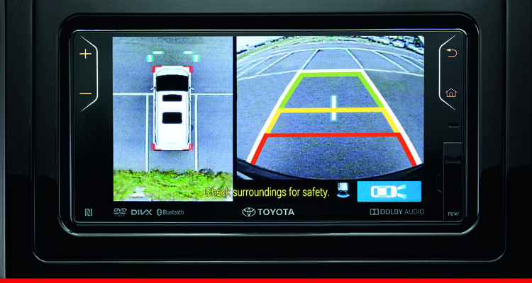 DVD-AVN (Audio Video Navigation) with Reverse Camera*