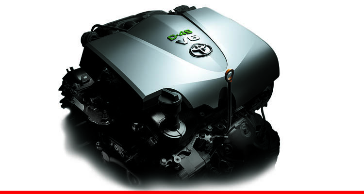 New V6, 24 DOHC VVT-iW Engine