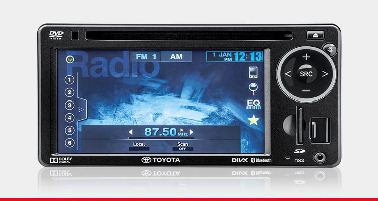 DVD-AVX (Audio Video Auxiliary) System with Reverse Camera*