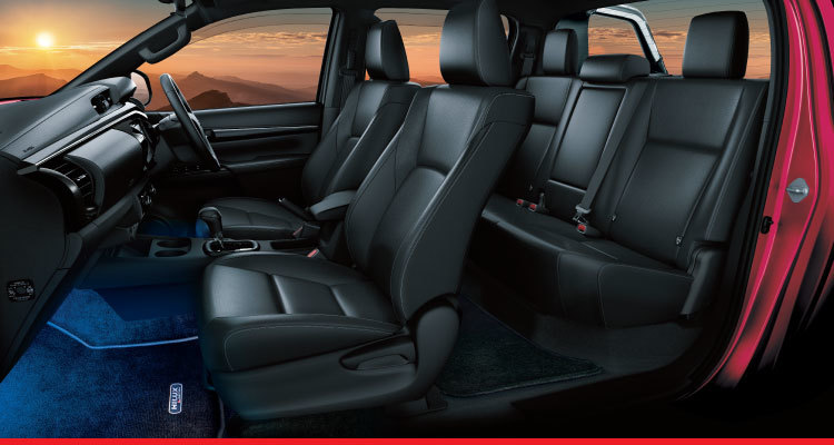 Black Interior with Combination Leather Seats*