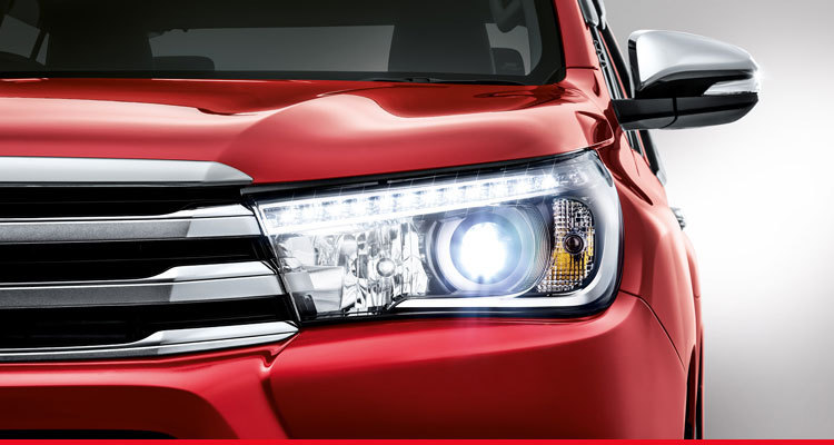 Auto LED Headlamps with LED Daytime Running Lights (DRL)*