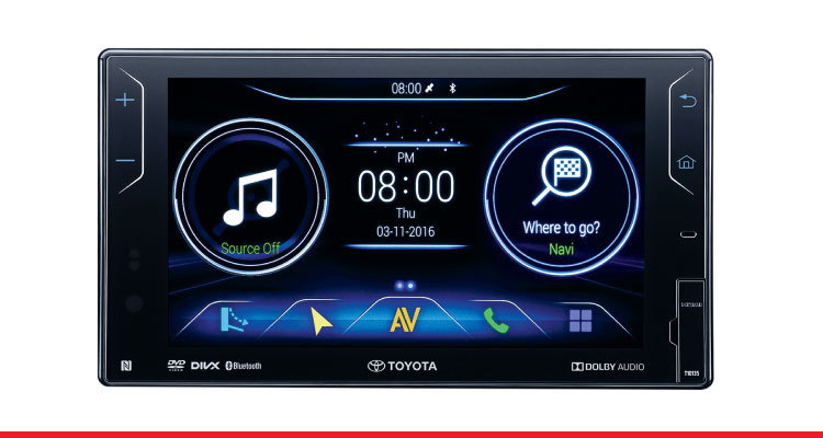 DVD-AVN (Audio Video Navigation) System with Reverse Camera*