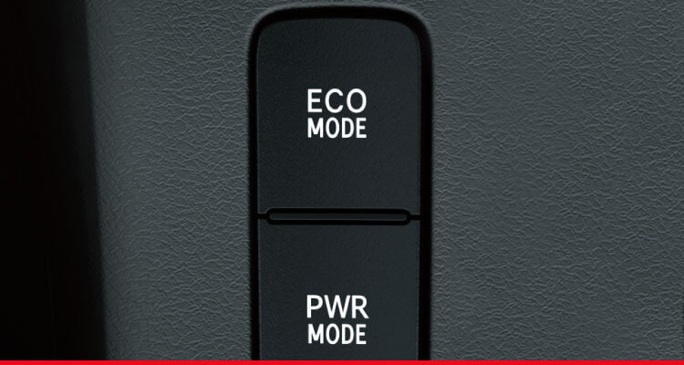 ECO / Power Drive Mode Selector*