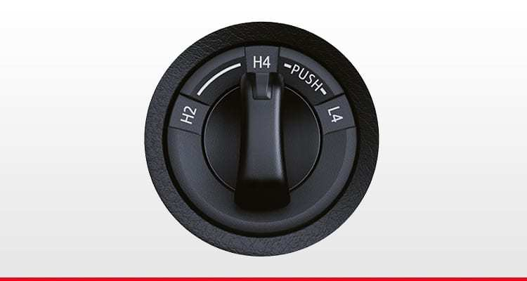 4WD Transfer Dial