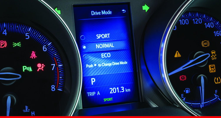 Drive Mode (Eco / Normal / Sport)
