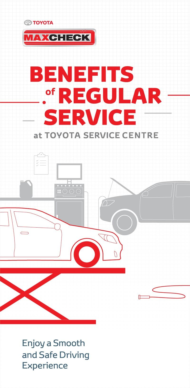 Get personalised care and professional service for your Toyota vehicle,  catering to all your needs throughout the entire vehicle ownership journey.