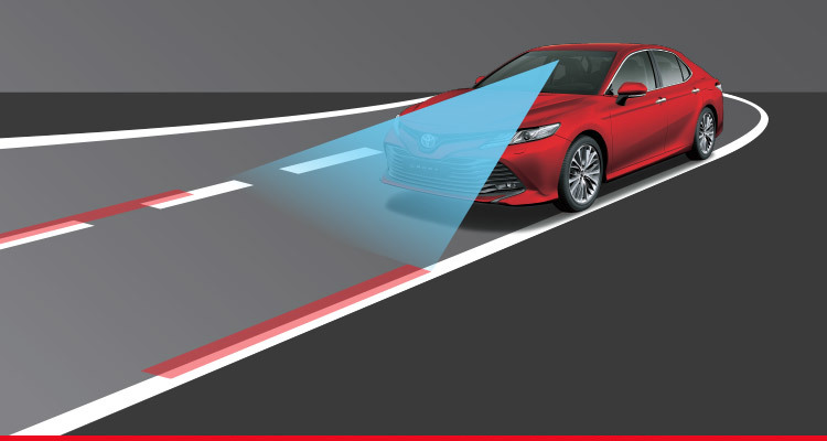 Lane Departure Alert (LDA) with Steering Assist