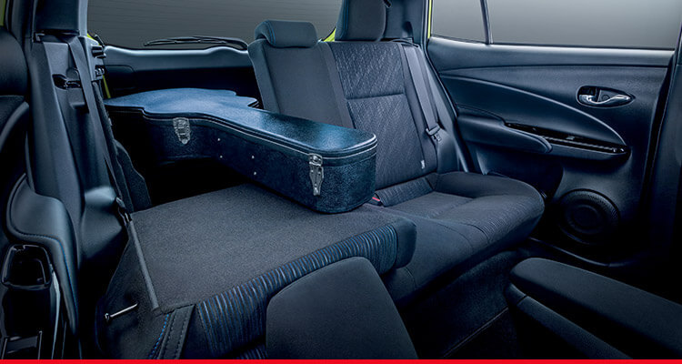 60:40 Split Folding Rear Seats