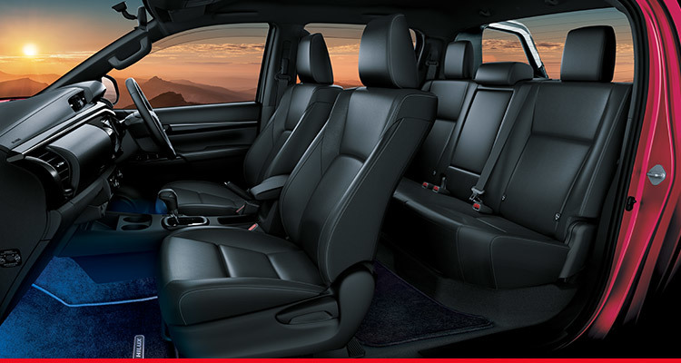 Black Interior with Combination Leather Seats