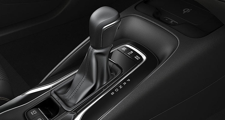 7-Speed Continuously Variable Transmission (CVT)