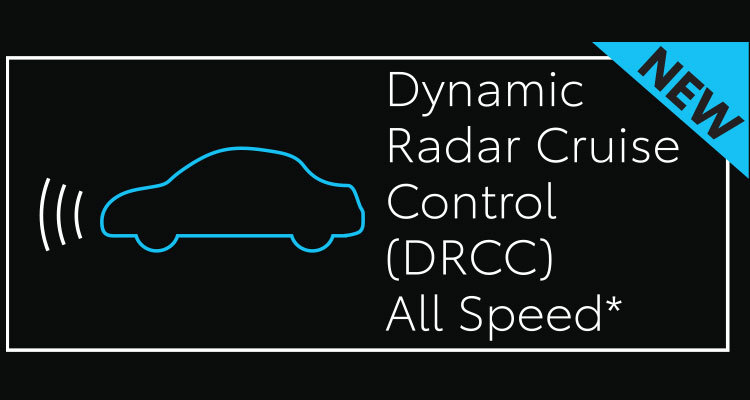 Dynamic Radar Cruise Control (DRCC) for All Speeds