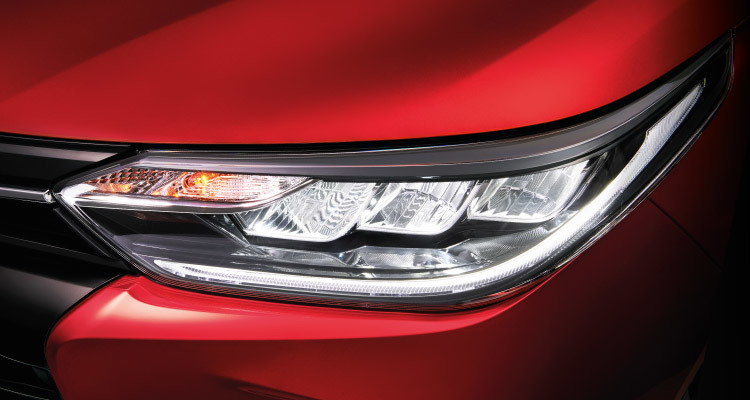 Front LED Headlamps, Daytime Running Lights (DRL) & Fog Lamps