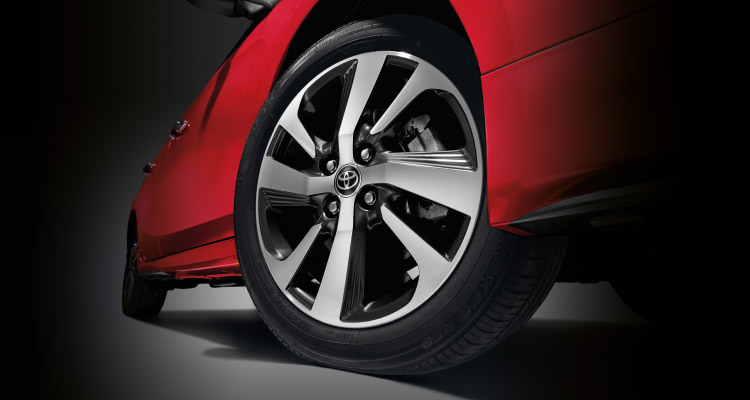 "Stylish 16"" Alloy Rims"