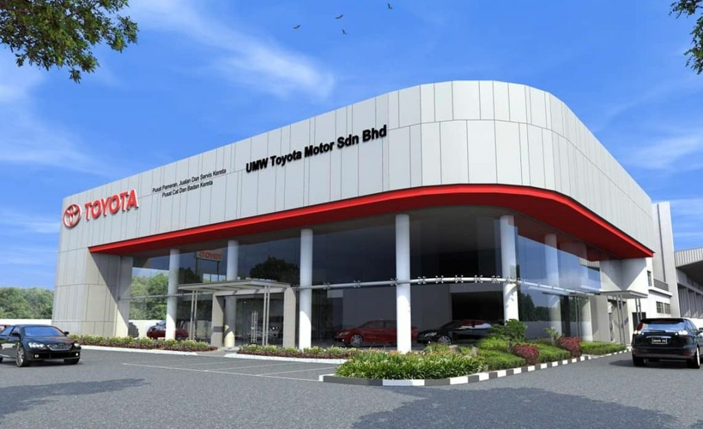 Car Purchasing Process in Malaysia Toyota Showroom