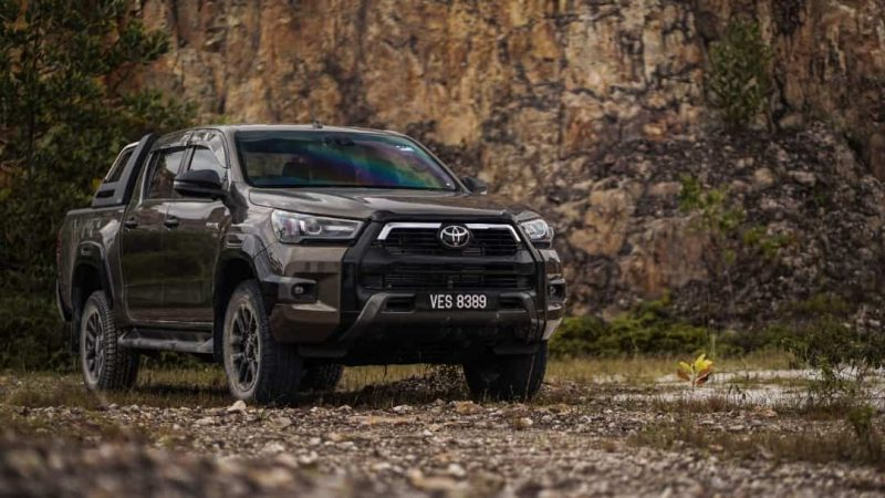 Pick-up Truck Vehicle Type - Toyota Hilux Malaysia