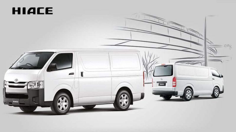 What is a Van - Toyota Hiace Panel Van Malaysia