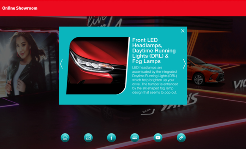 Toyota Malaysia Online Car Showroom Car Exterior Features View