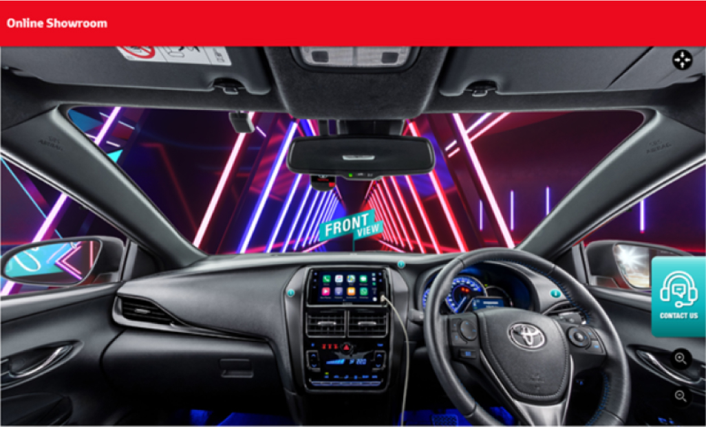 Toyota Malaysia Online Car Showroom Car Interior Features View