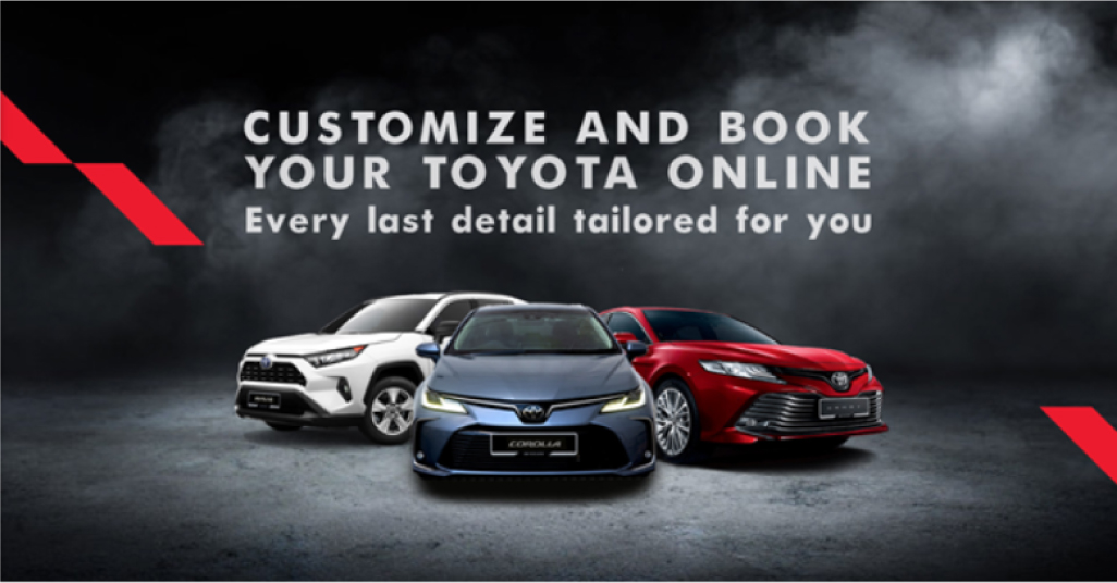 Toyota Malaysia Book Your Toyota Online